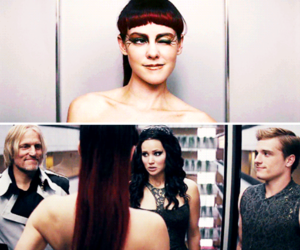 jena malone, the hunger games, and catching fire image
