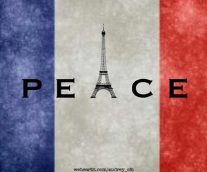 peace, pray for paris, and paris image