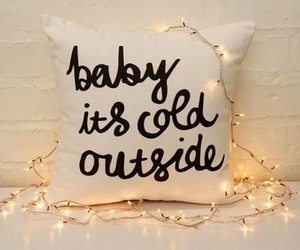 baby, cold, and pillow image