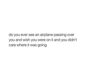 airplane, travel, and travelling image