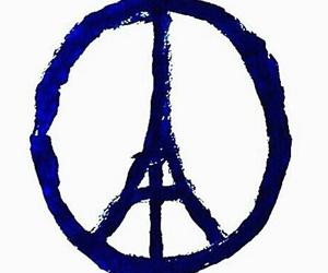 pray for paris, paris, and prayforparis image
