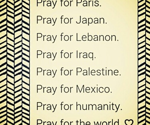 pray, world, and paris image