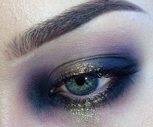 eyes, makeup, and mascara image