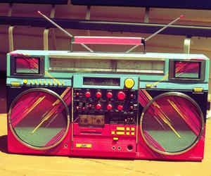 music, radio, and pink image