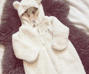 baby, fashion, and baby bear image