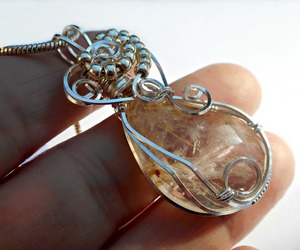 handmade, crystal quartz, and jewelry image