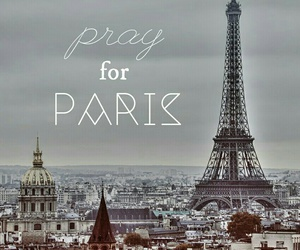 paris, for, and pray image
