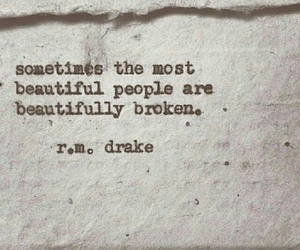 quotes, broken, and beautiful image