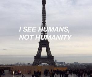 humanity, paris, and toureiffel image