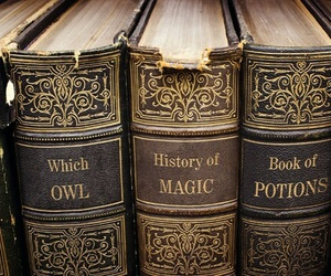 book, magic, and harry potter image