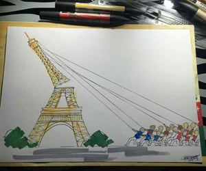 prayforparis, france, and paris image