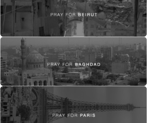 baghdad, paris, and Barcelona image