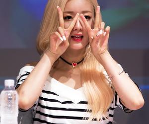 korean girl, kpop, and a pink image