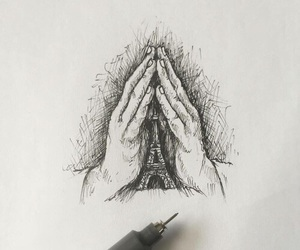 paris, pray, and prayers image