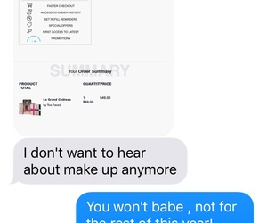 babe, cute texts, and perfect boyfriend image