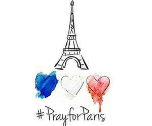 prayforparis, paris, and france image