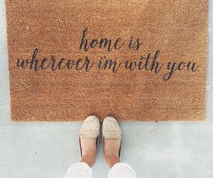 love, home, and quotes image