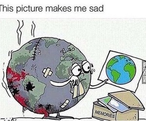 sad, world, and memories image