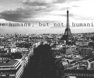 humanity, humans, and paris image