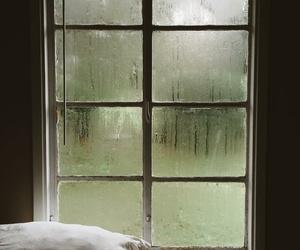inspiration, rain, and window image