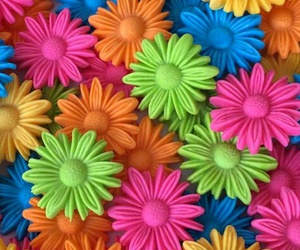 colors, background, and flowers image