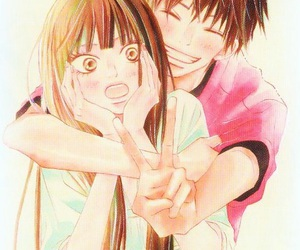 anime, kimi ni todoke, and couple image
