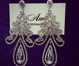 accesories, diamond, and earring image