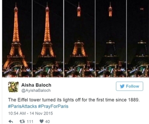 eiffel tower, france, and humanity image