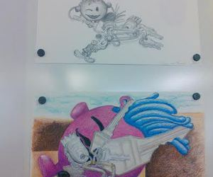 drawing and i love art image