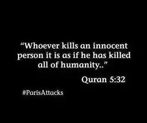 islam, quran, and killing innocent image