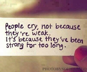 cry, people, and frases image