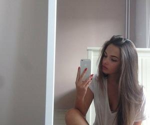 girl, hair, and beauty image