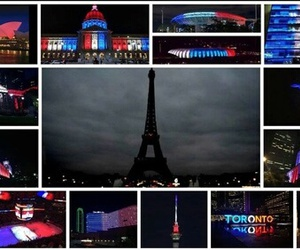 peace, love, and pray for paris image