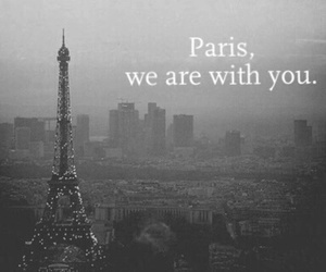 paris, france, and pray image
