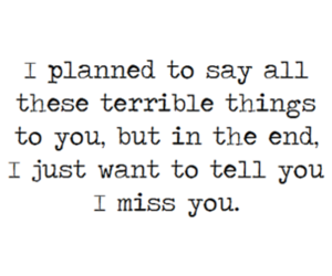 end, girl, and i miss you image