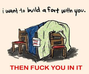 fort, funny, and fuck you image