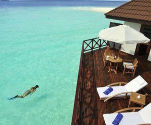 summer, holidays, and Maldives image