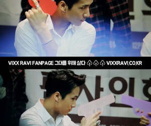ravi, fansign, and he's so cute image