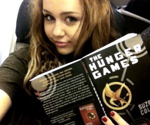 miley cyrus, miley, and the hunger games image