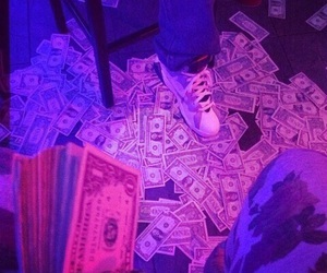money, purple, and tumblr image