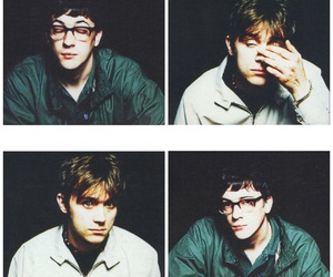 90's, band, and blur image