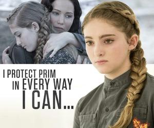 prim, katniss, and katniss everdeen image