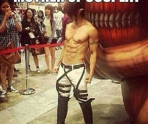 cosplay, anime, and attack on titan image