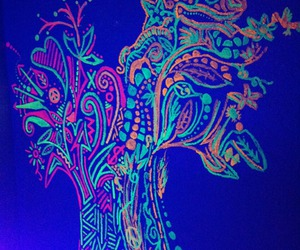 black light, drawing, and photography image