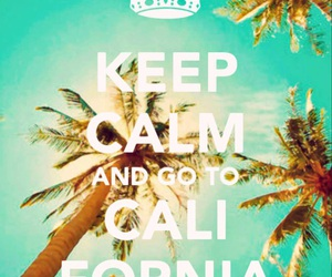 california, keep calm, and palms image