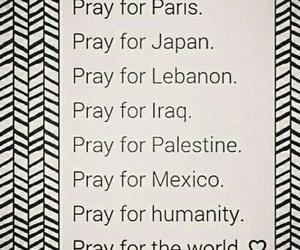 pray, world, and paris image