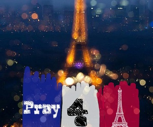 bombing, paris, and pray image