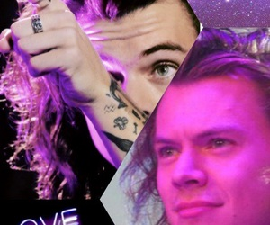 purple, larry, and 1d image