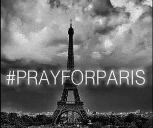pray for paris, parís, and francia image