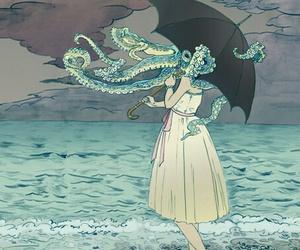 art, illustration, and ocean image